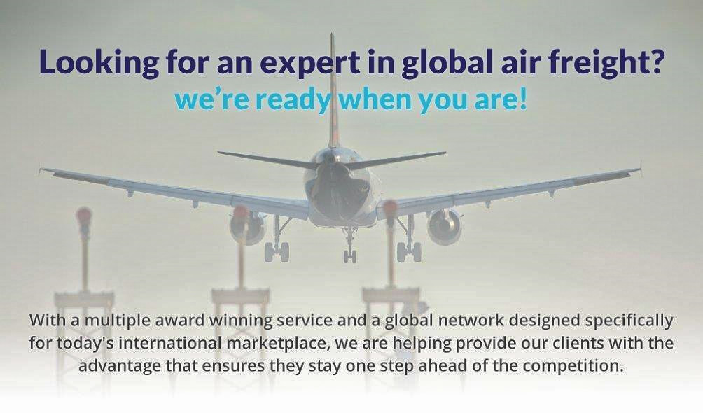 Looking for an expert in global air freight?