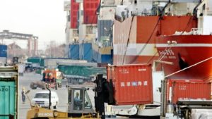 Japan's trade surplus with US slumps in July