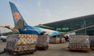 Wuhan launches air cargo route to Osaka to meet medical supply demand